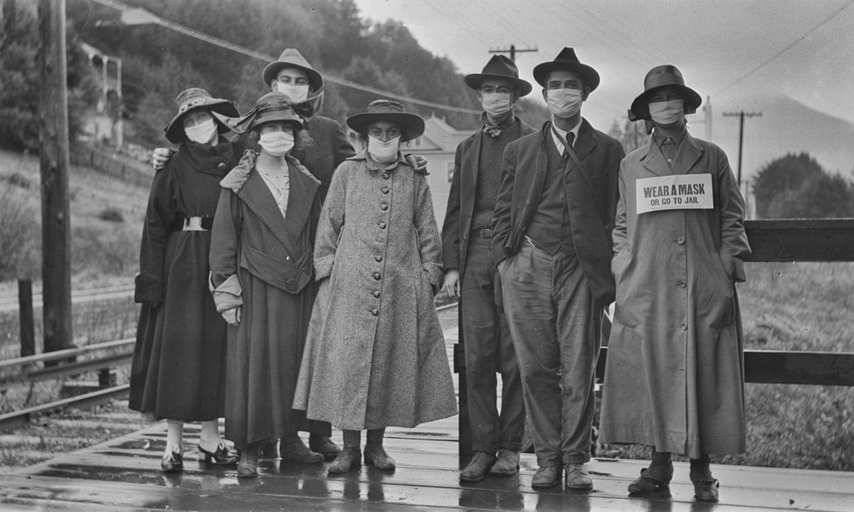 «Надевай маску или иди в тюрьму». США, пандемия испанки 1919 год.