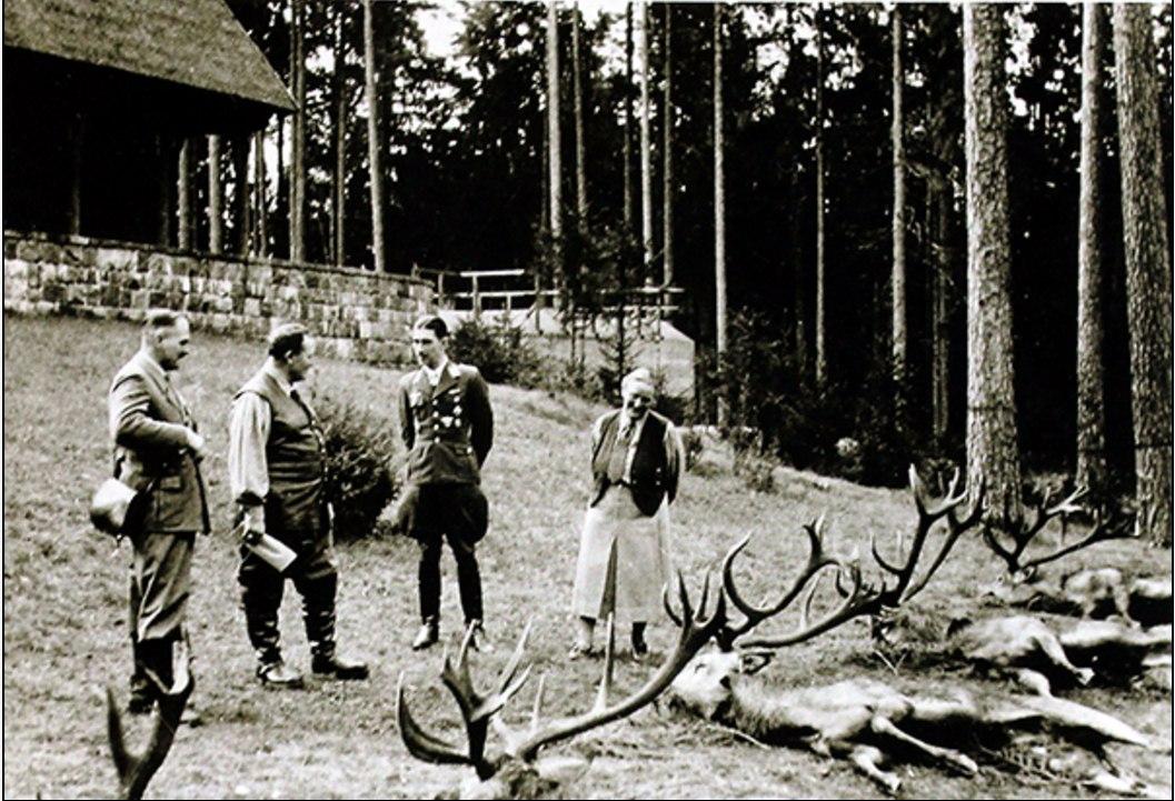Геринг в Роминтенской пуще