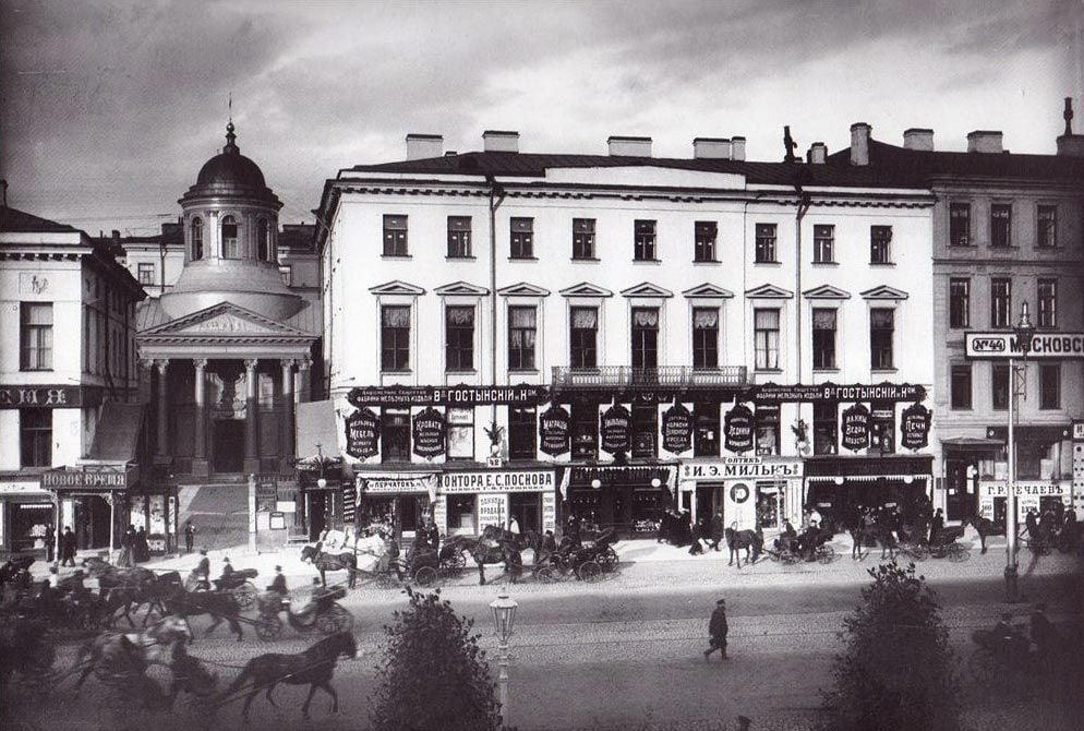 Армянская Апостольская церковь Св. Екатерины в Санкт-Петербурге, где была отслужена панихида по Л. Н. Толстому (1910 г.)