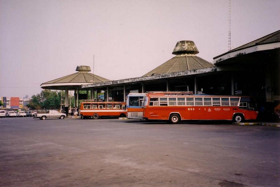 Thailand - Chiang Mai - Arcade Bus Station 1985