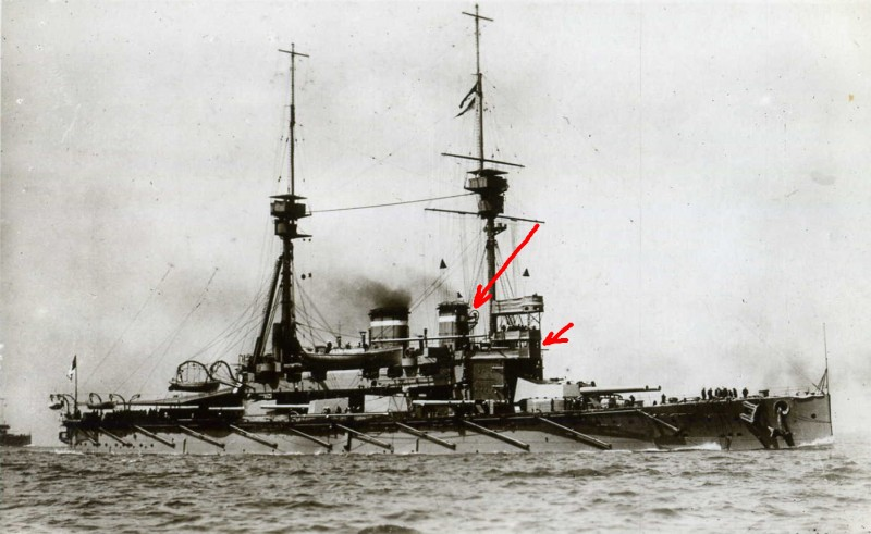 Lord Nelson in 1911-12