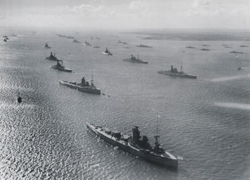 Royal Navy review at Spithead 1937