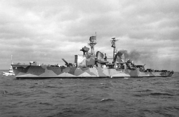 Послевоенный камуфляж на флоте
