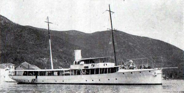 Неизвестные корабли итальянского флота: канонерская лодка