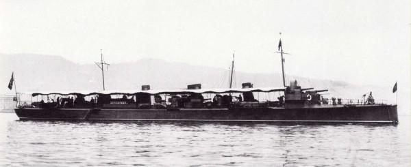 Итальянские эсминцы (1): «Фульмине»