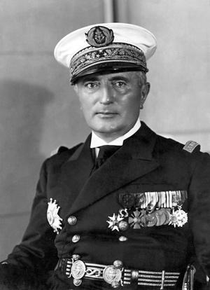 О французских адмиралах