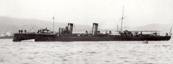 Итальянские эсминцы (2): тип «Лампо»