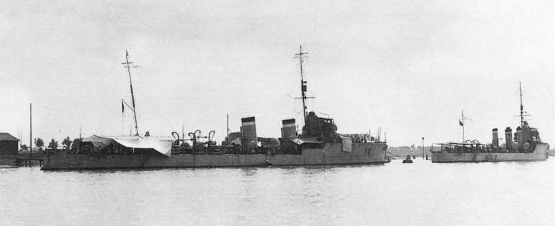 Итальянские эсминцы (6): тип «Аудаче»