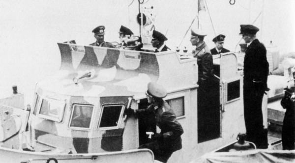 О мостиках на торпедных катерах