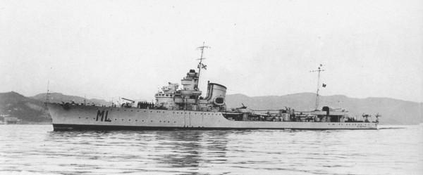 Maestrale alla Spezia 1938-39