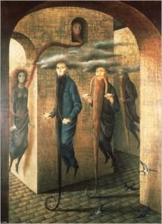 """Ремедиос Варо """"Волосатое движение"""" (1955)"""