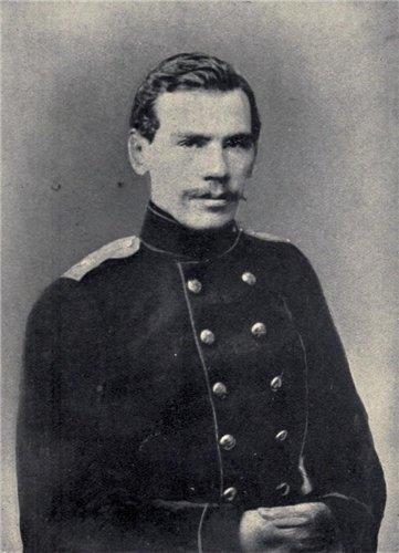 Лев Толстой в 1856 году