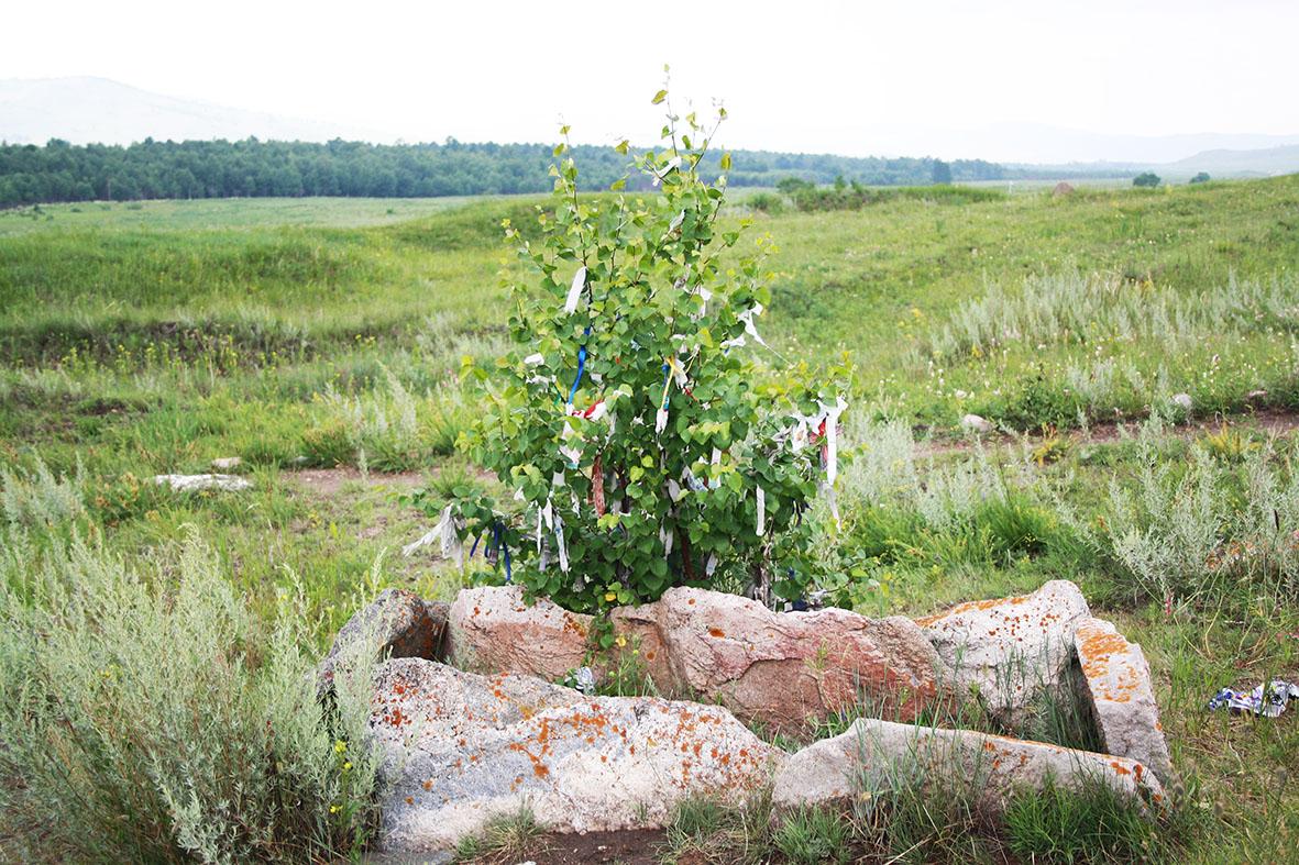 Сиротская могилка хакасской царицы