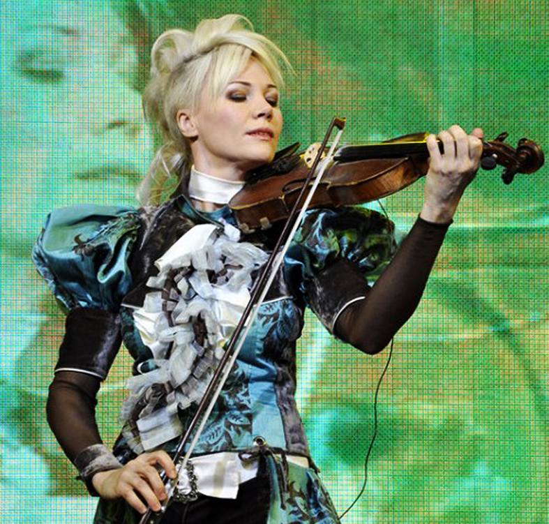 Скрипачка Оля