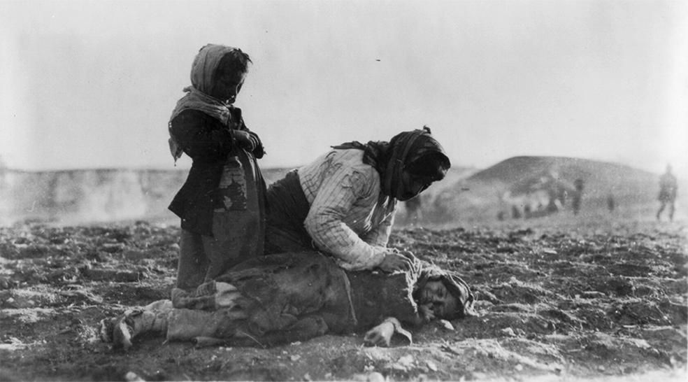 Армяне, изгнанные в пустыню