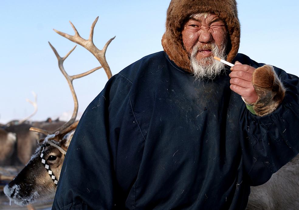 Крутой якутский самец