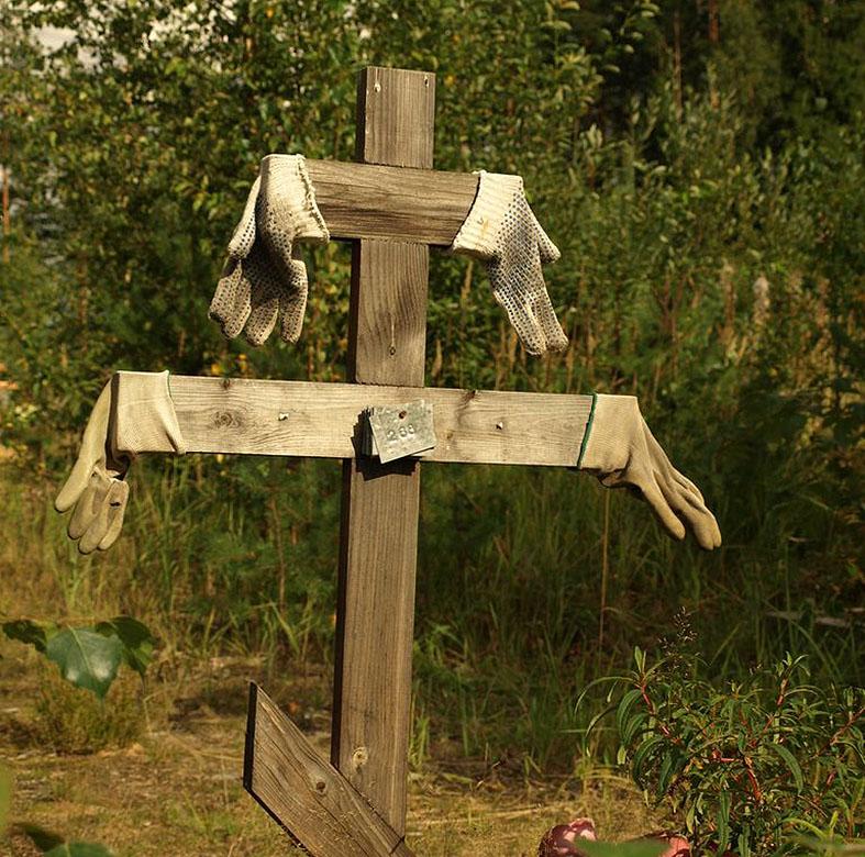 Кладбищенский юмор могильщиков