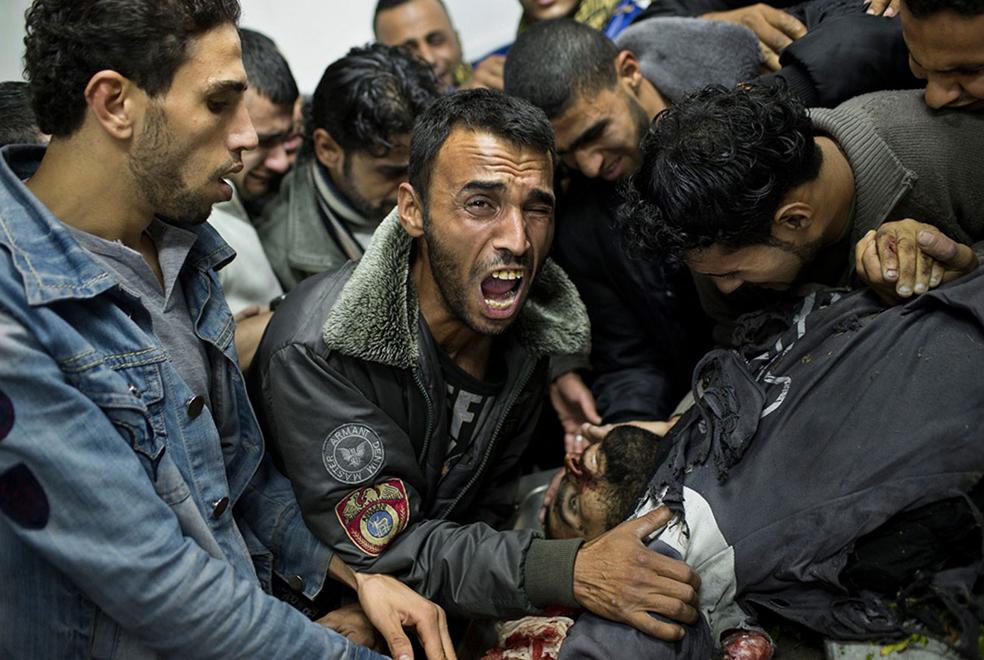Палестинская жертва израильтян