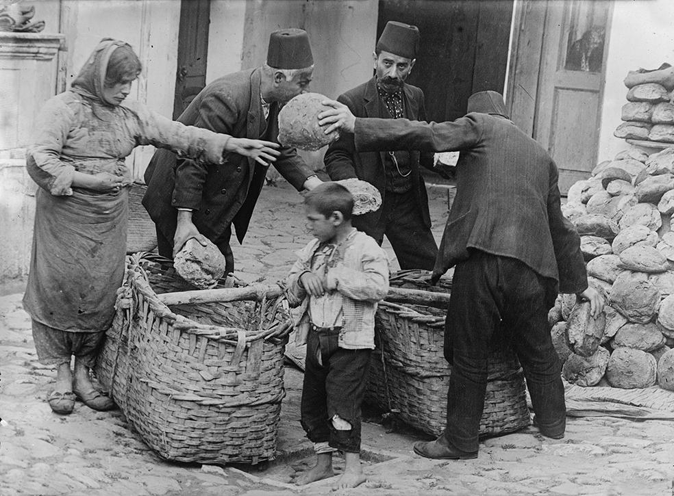 Армянские беженцы-побирушки