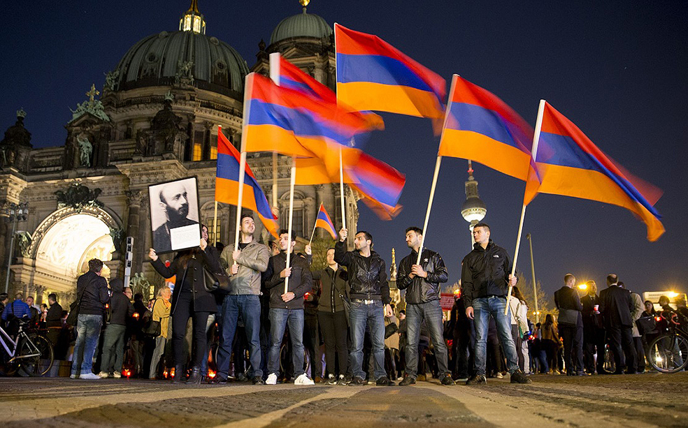 Армяне славят родину в Берлине