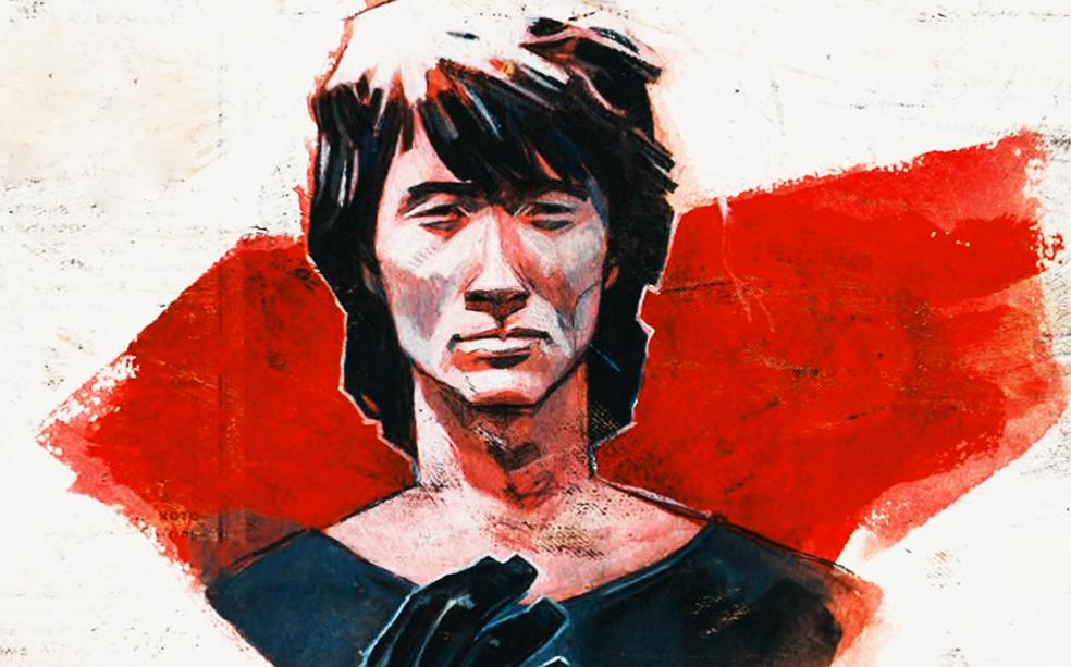 Герой японских комиксов
