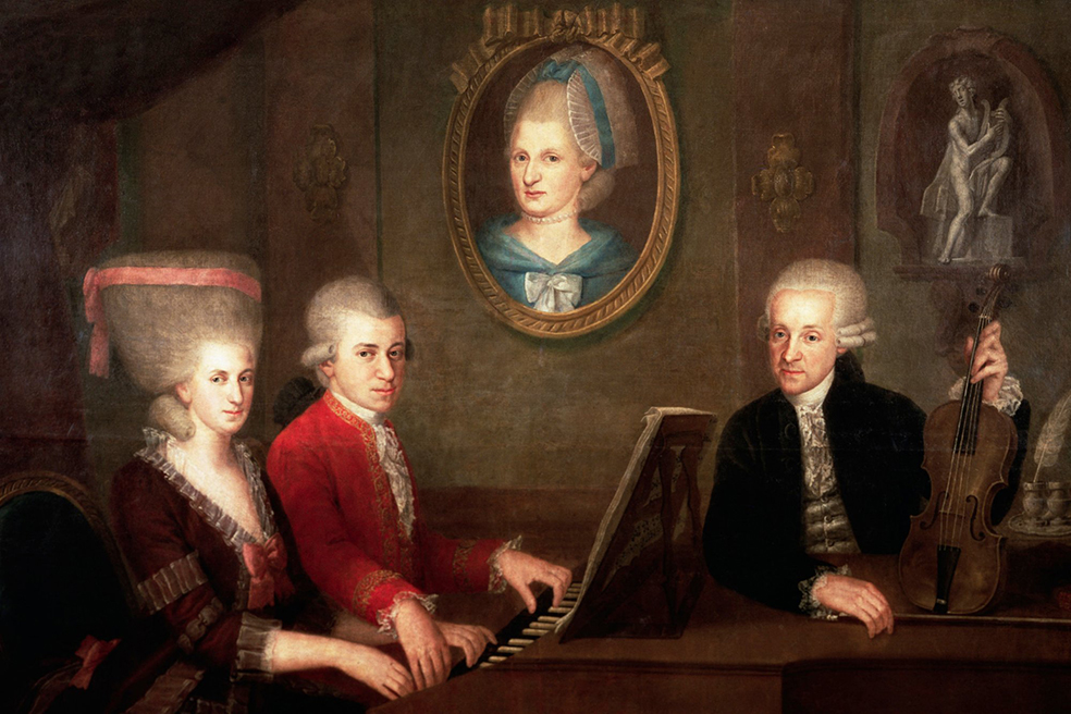 Леопольд Моцарт и его дрессированные обезьянки