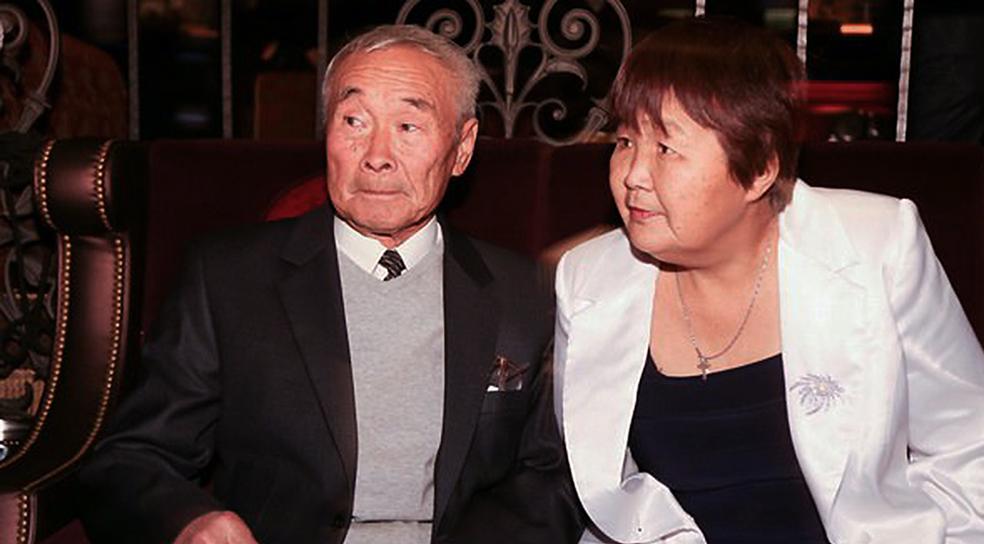 Старый Цой со своей кореянской женой