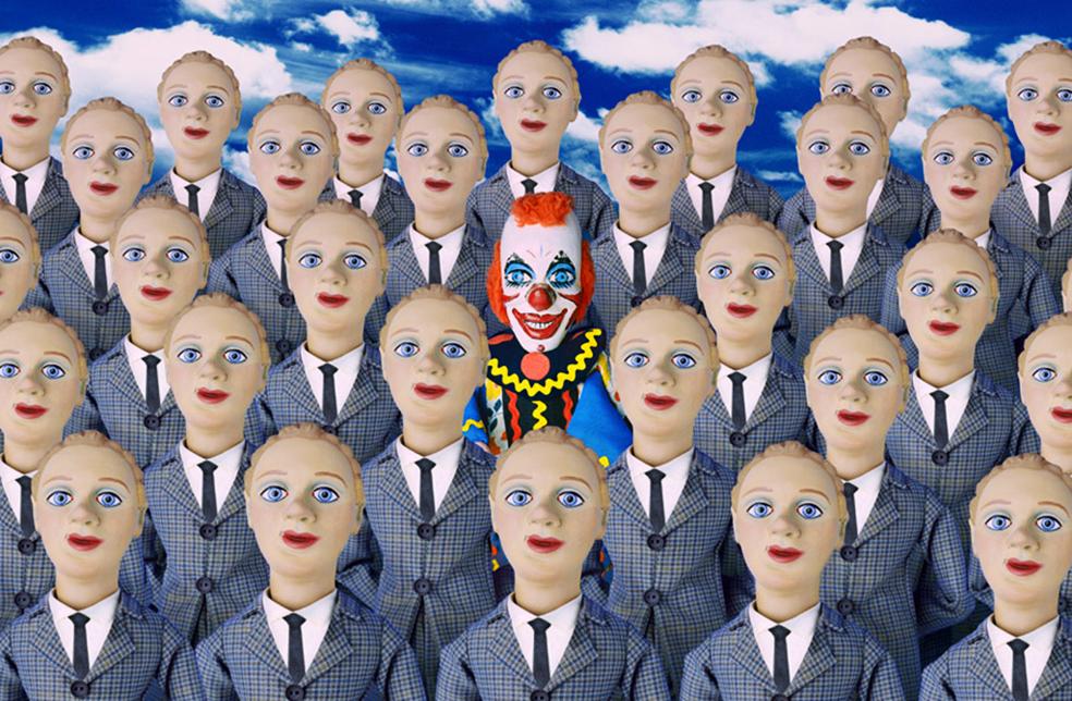 Клоун у пидорасов