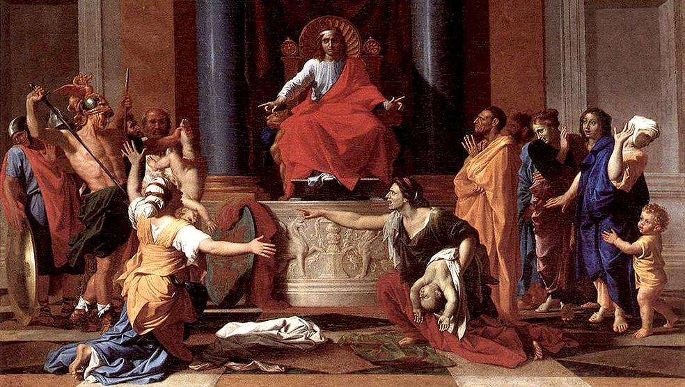 Бляди срутся, Соломон чудит