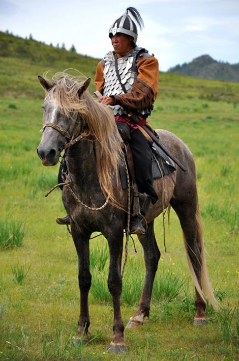 Хакас на коню