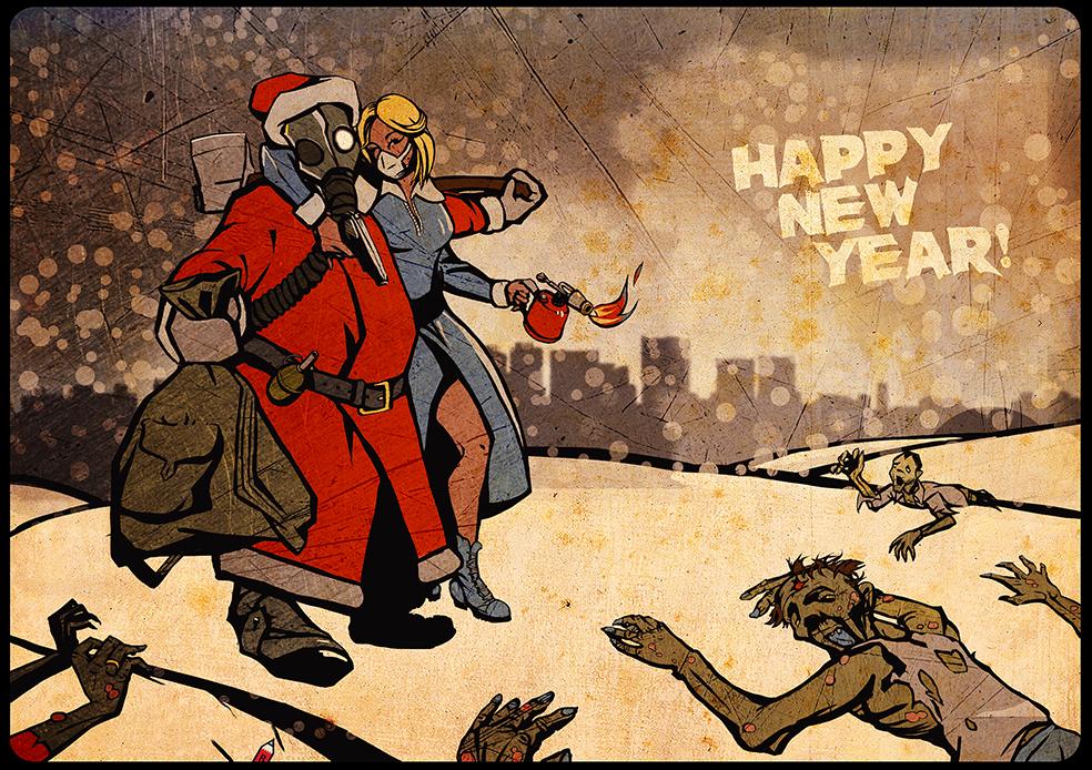Новогодняя открытка для пессимистов