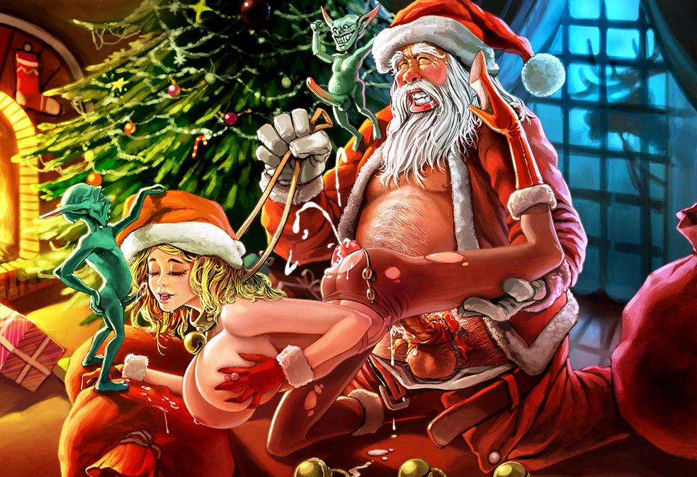 Секс Игры Дед Мороз