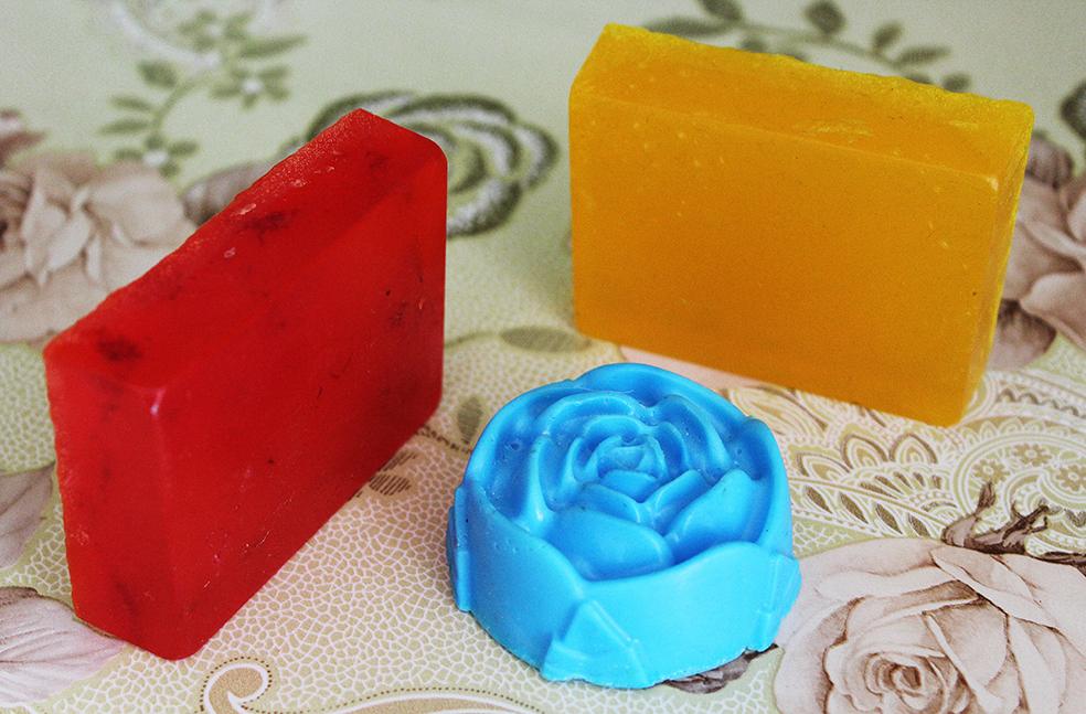 Рукоблудное, пардон, рукотворное мыло