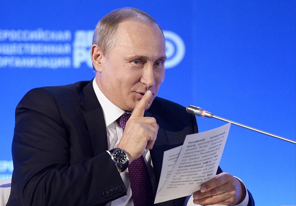 Пойду ли я на выборы Путина - это секрет