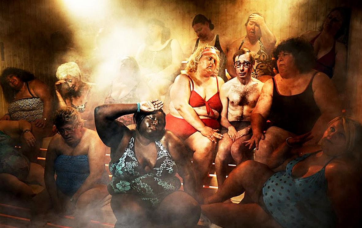 В бане с весёлыми девчонками