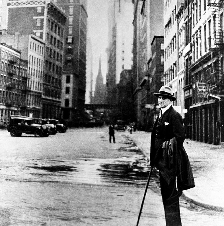 Пролетарский трибун постигает Нью-Йорк