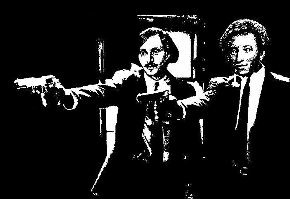 Пушкин и Гоголь - знатные бандюки