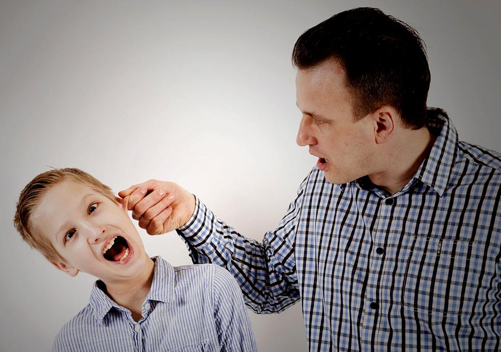 Добрая отцовская выволочка