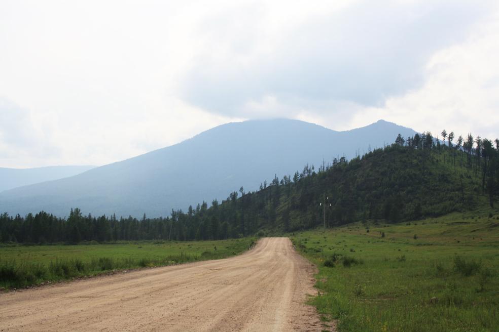 Там, где облака касаются гор
