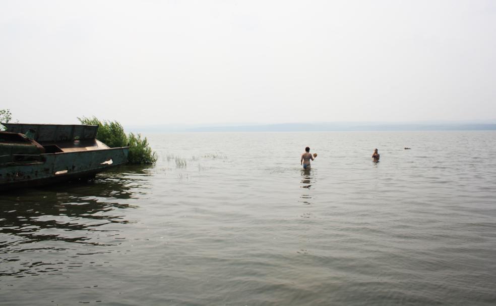 В водах Берчикуля