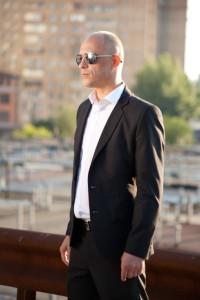 Певец Сергей Осипенко (которого часто путают с Джейсоном Стэтхэмом) - съемки клипа к песне Ты - 1