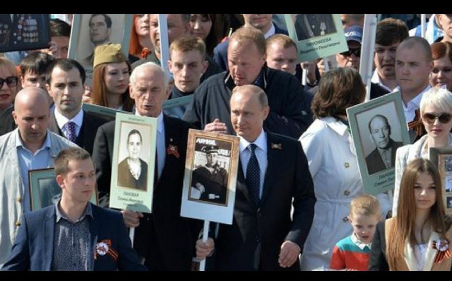 Путин_Бессмертный Полк_70