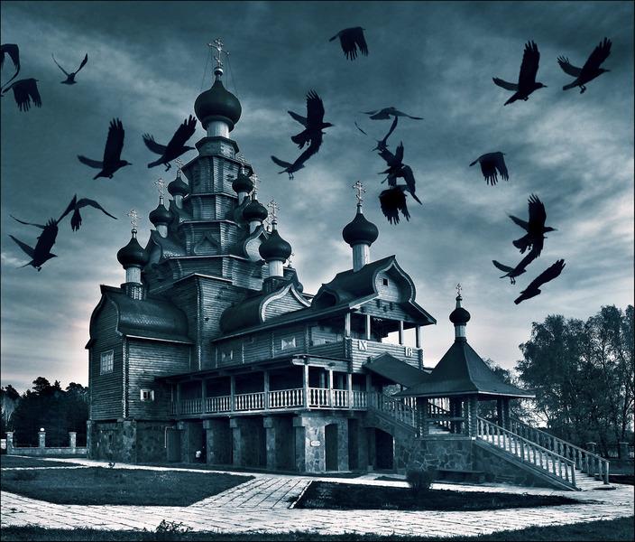 Храм вороньё