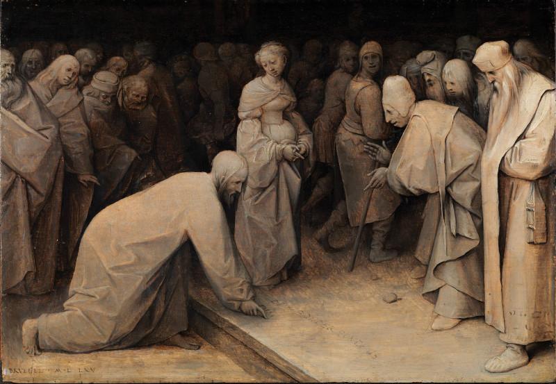 Питер Брейгель Старший Христос и грешница Courtauld Institute of Art