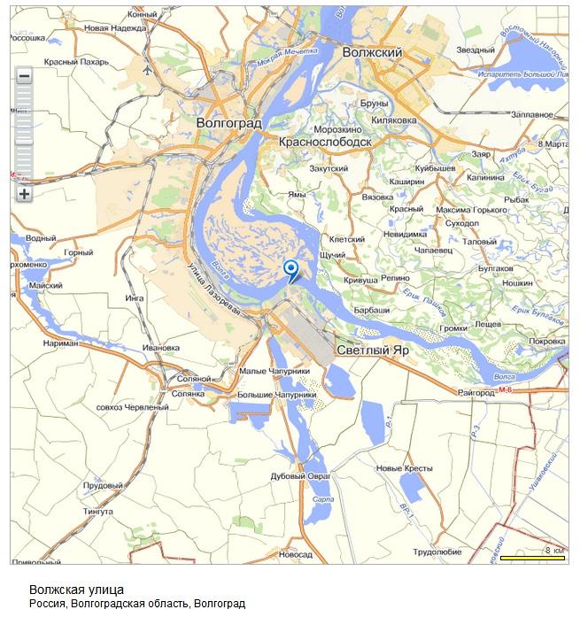карта волжская 41