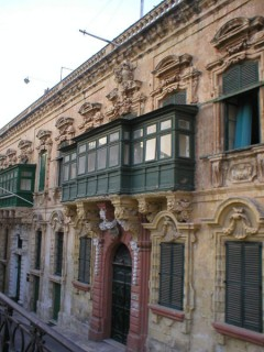 Balcony in Valetta
