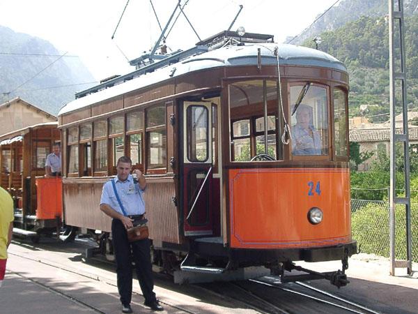 Tram to Port Soller