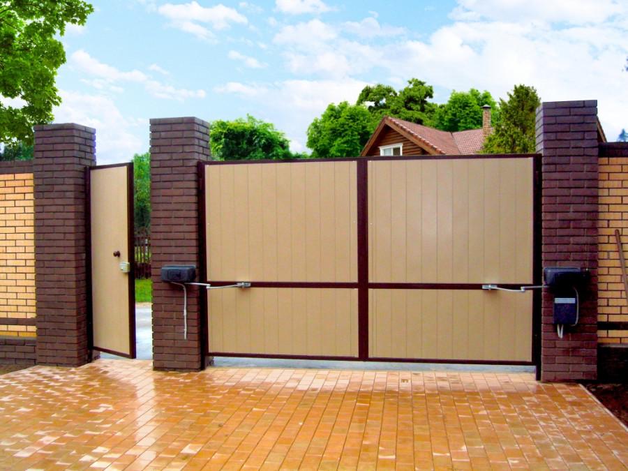 Уличные распашные ворота комплектующие для сдвижных ворот купить в пскове