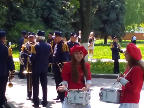 Полтава. Парад оркестров