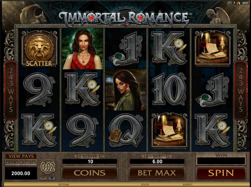 777 игровые автоматы Microgaming - Immortal Romance